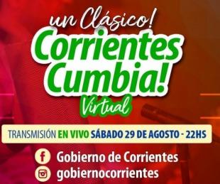foto: Corrientes Cumbia Virtual: Otra noche de premios y sorteos