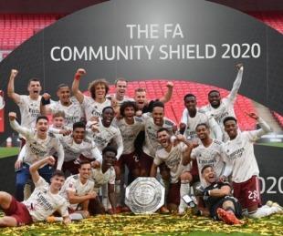 Arsenal venció al Liverpool por penales y obtuvo la Community Shield