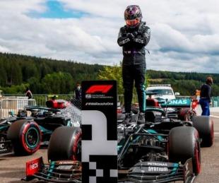foto: Lewis Hamilton volvió a festejar en otro desastre de Ferrari
