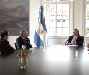 foto: Fernández se reunió con gobernadores de Corrientes, Jujuy y Mendoza