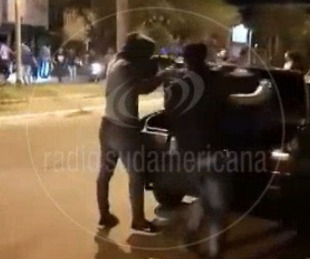 foto: Video: así escapaban de una fiesta clandestina en Santo Tomé