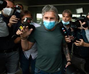 foto: El padre de Messi llegó a Barcelona para negociar su pase al City