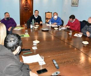 foto: Valdés analizó un Plan de Infraestructura junto a Tassano