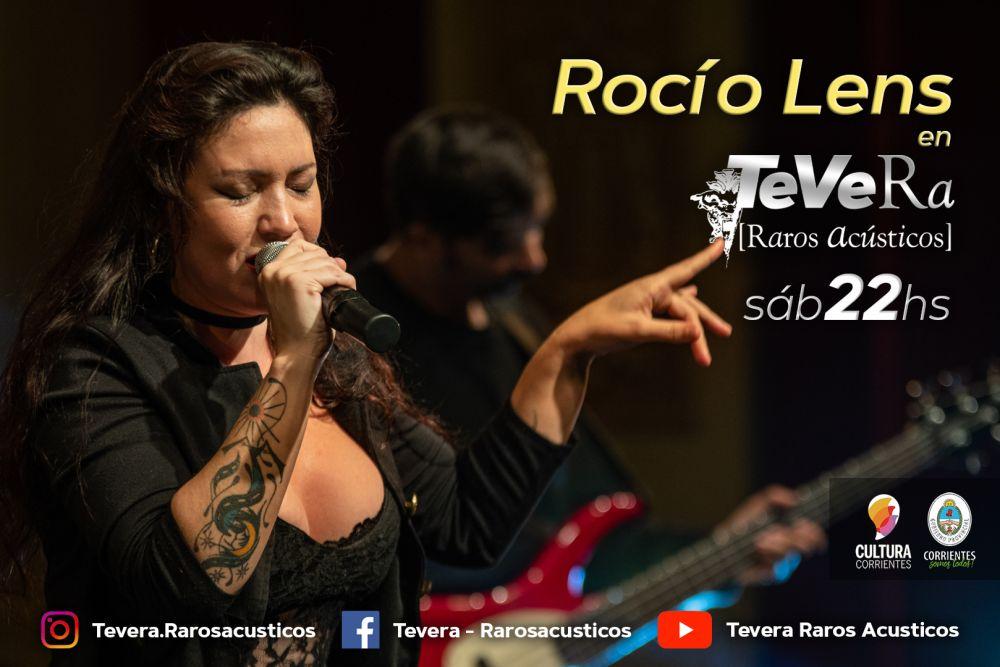 Canal 5TV transmitirá el episodio de Rocío Lens en el Tevera