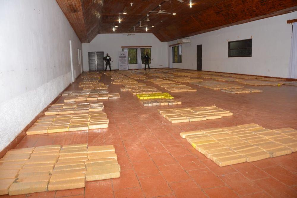 Narcotráfico: decomisan en Misiones casi 3000 kilos de marihuana