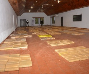 foto: Narcotráfico: decomisan en Misiones casi 3000 kilos de marihuana