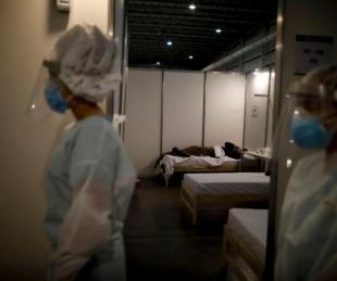 foto: Coronavirus: registraron casi 10 mil casos y 117 muertes en 24 horas