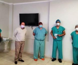 foto: CUCAICOR coordinó el primer trasplante de hueso en Corrientes