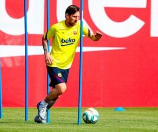 foto: ¿Fin de la novela? Messi volverá a los entrenamientos este lunes