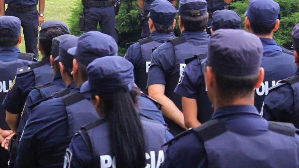 Policía bonaerense: Cobrarán $44.000 de salario inicial de bolsillo