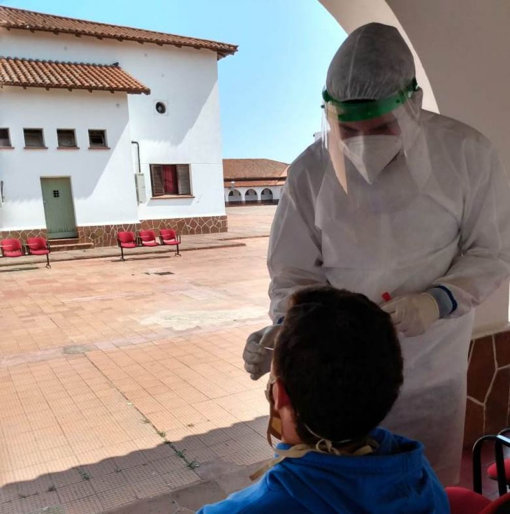 Salud habilitó un centro de testeo para las investigaciones epidemiológicas