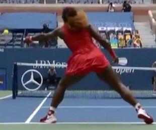 foto: Serena Williams dejó a todos con la boca abierta con dos puntos increíbles