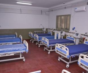 foto: Hay 40 pacientes internados en el Hospital de Campaña