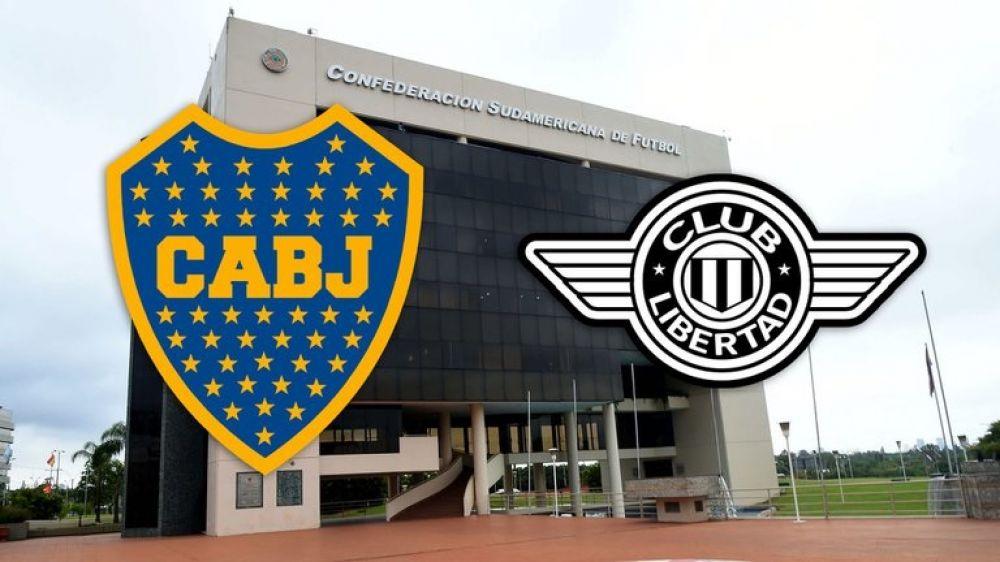 Conmebol aclaró la situación del partido entre Libertad y Boca