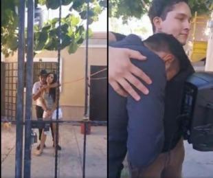 foto: Quiso reconquistar a su exnovia con una serenata, pero la encontró con otra persona