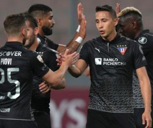 foto: Tras seis meses de suspensión, se reanudó la Copa Libertadores