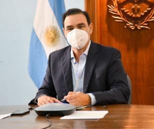 foto: Valdés firmó un convenio con Nación para obras en Corrientes