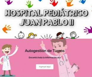 foto: El Hospital Pediátrico ya funciona con