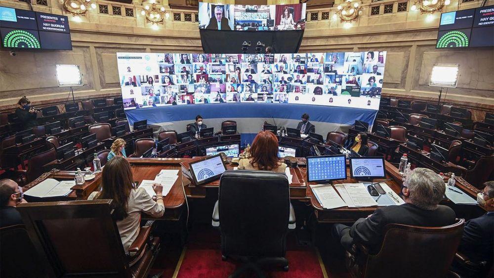 El Senado aprobó la remoción de los jueces que investigan a Cristina