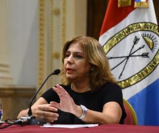 foto: La ministra de Salud de Santa Fe dio positivo a coronavirus