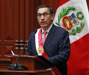 foto: El culebrón que amenaza al presidente de Perú, Martín Vizcarra