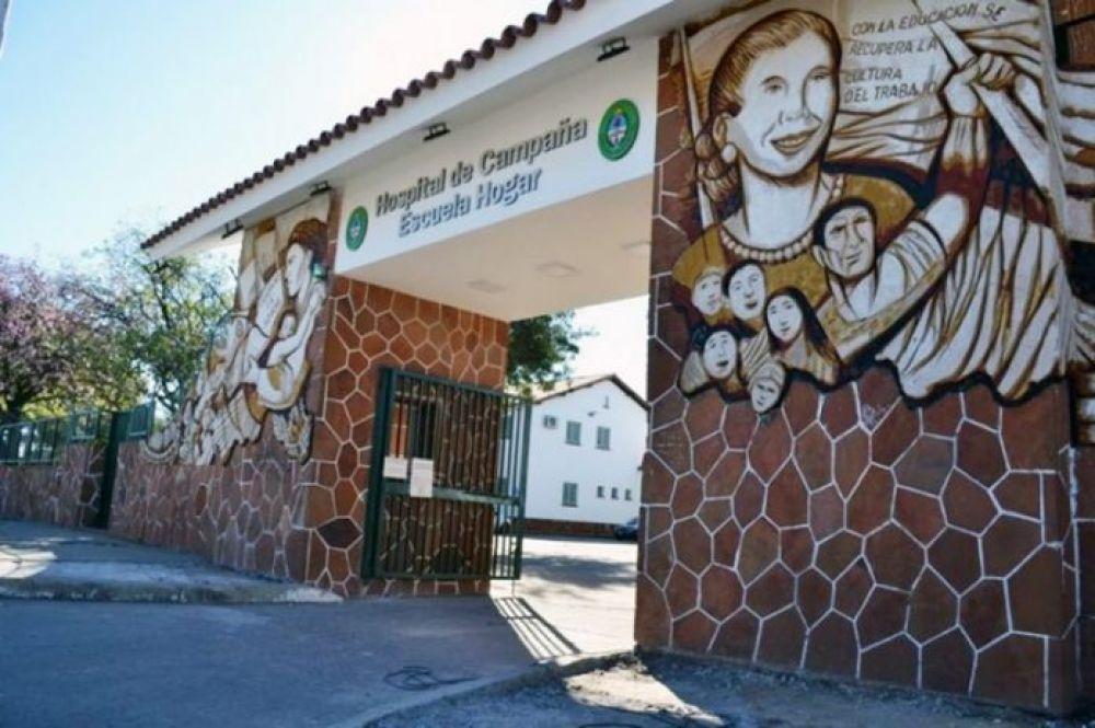 Murió una mujer de 67 años en el Hospital de Campaña: ya son 15 las víctimas