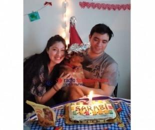 foto: Mascotas: Sarabi cumplió un año y mirá cómo lo festejó