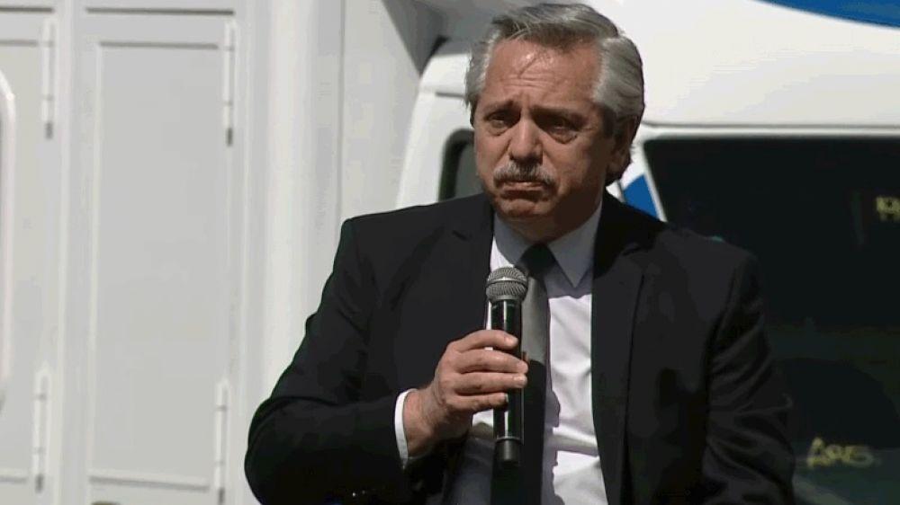 Alberto Fernández anticipó nuevas restricciones en el interior