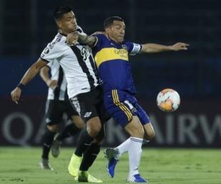 foto: Libertadores: Boca pisó fuerte en Paraguay y le ganó a Libertad