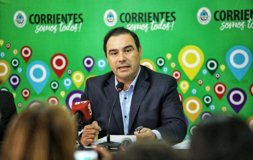 El Gobernador Gustavo Valdés viajará a San Roque y Mantilla