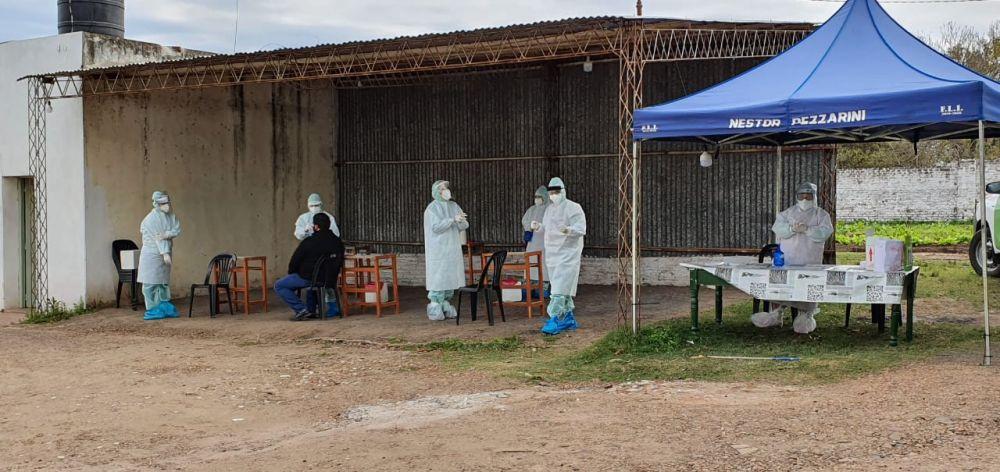 Monte Caseros: se realizaron 28 nuevos hisopados y esperan resultados