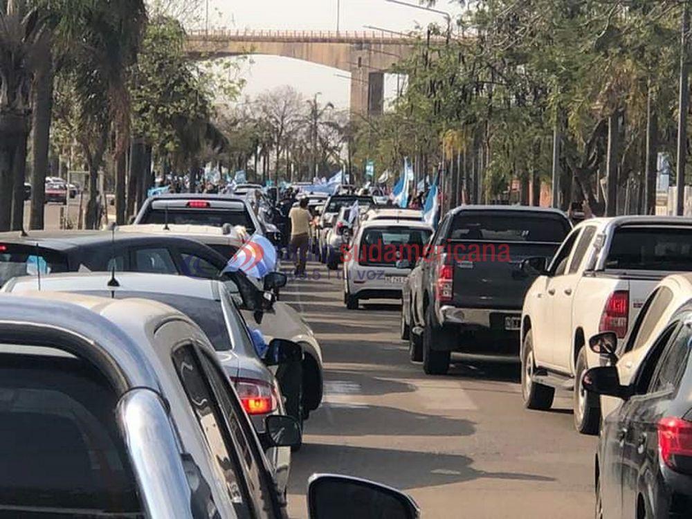 Banderazo del #19S: Corrientes también se unió a las protestas