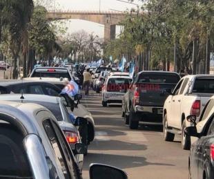 foto: Banderazo del #19S: Corrientes también se unió a las protestas