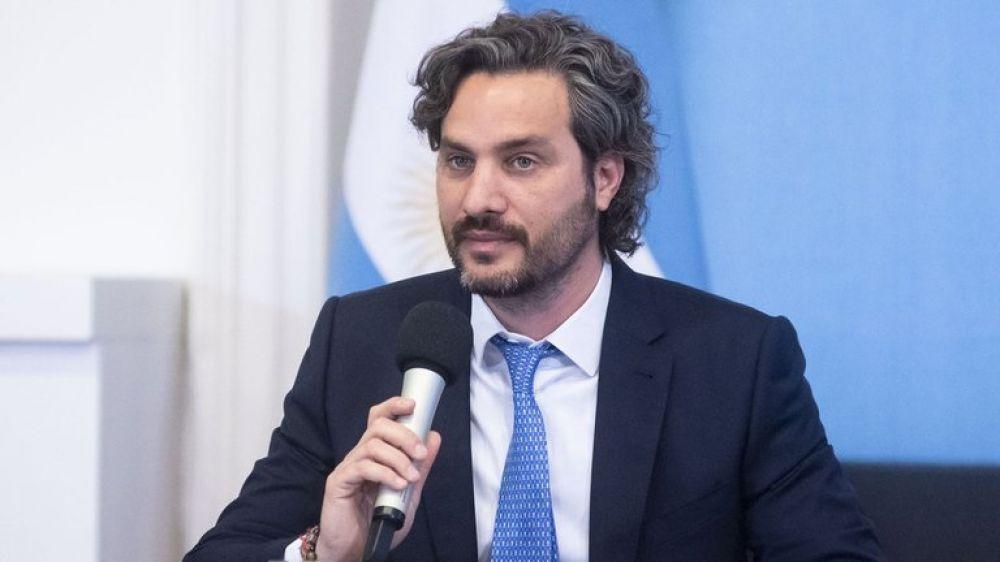Santiago Cafiero: Las medidas de restricción al dólar son transitorias