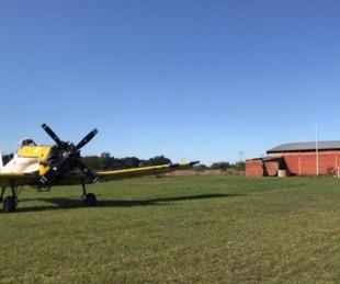 foto: Provincia activó el recurso aéreo para el combate de incendios