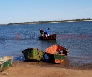 foto: Búsqueda de los tres canoeros: dicen que se partió la embarcación