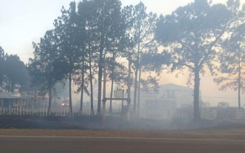 Villa Olivari: Se quemaron más de 450 hectáreas de monte