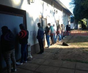 foto: Desarticulan una fiesta clandestina en Loreto: todos fueron demorados
