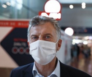 foto: Mauricio Macri está internado en una clínica privada