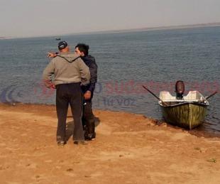 foto: Hallaron el cuerpo de uno de los jóvenes desaparecidos en el río