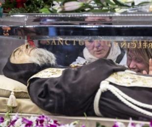 foto: Padre Pío: los estigmas que desaparecieron tras su muerte