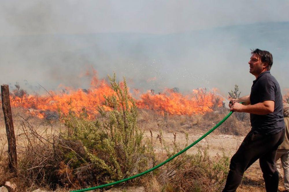 La desesperación de Damián De Santo por los incendios en Villa Giardino