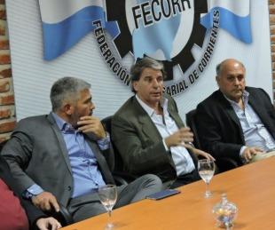 foto: Mensaje de la Fecorr tras la muerte del empresario Carlos Irigoyen