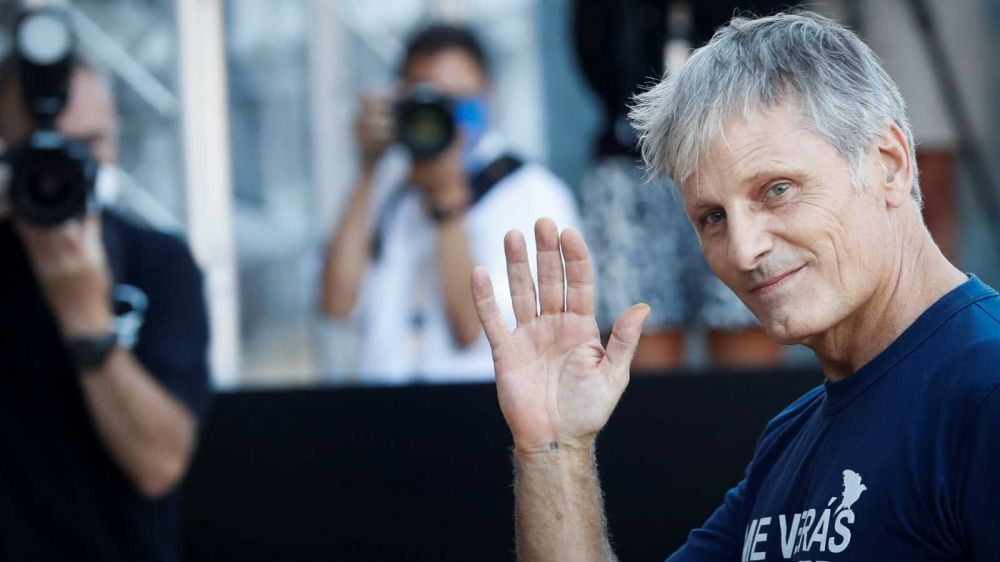 Viggo Mortensen militó por la vuelta de San Lorenzo a Boedo en el Festival de San Sebastián