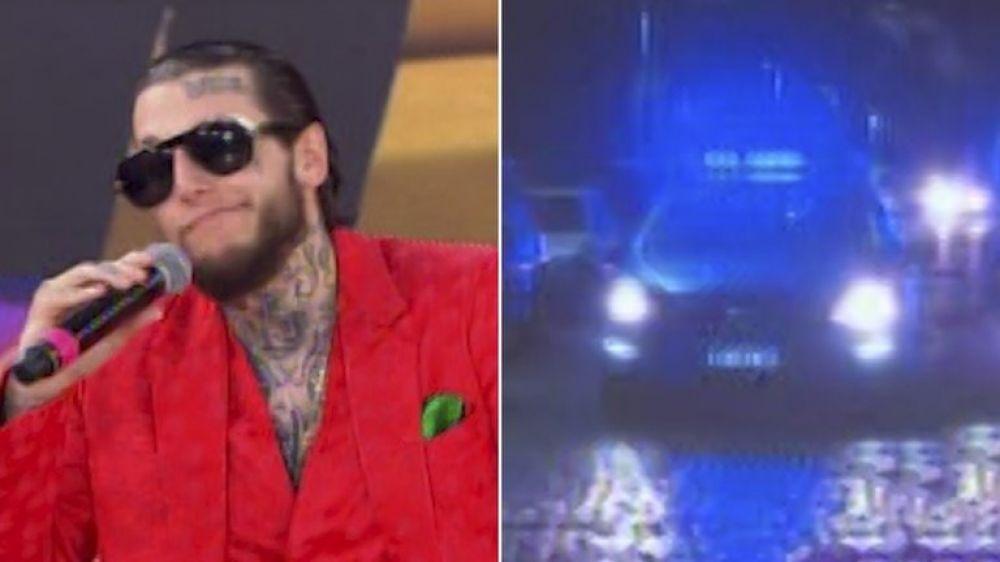 Por qué la policía fue a buscar a Alex Caniggia a la puerta del Cantando