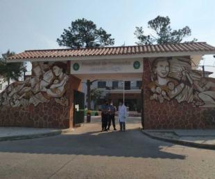 foto: Ya son 11 personas internadas en Terapia del Hospital de Campaña