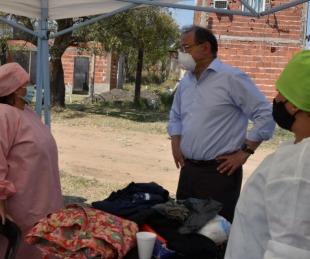foto: Tassano, en un exitoso operativo de Delegaciones Móviles en el Serantes