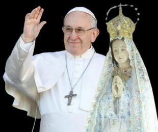 foto: El Papa envió un mensaje para los jóvenes peregrinos de Itatí