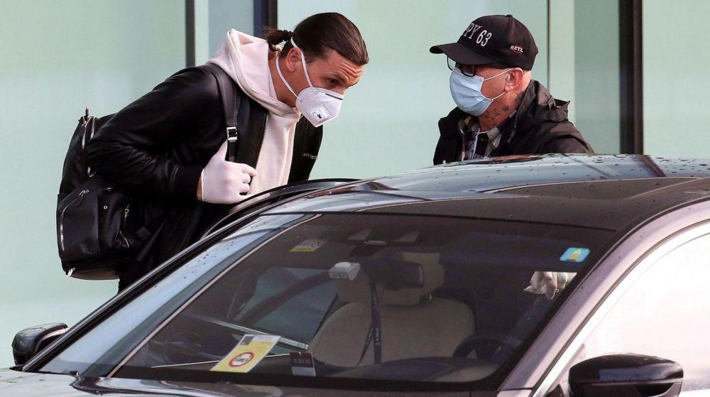 Ibrahimovic dio positivo en COVID-19 horas antes de jugar con el Milan