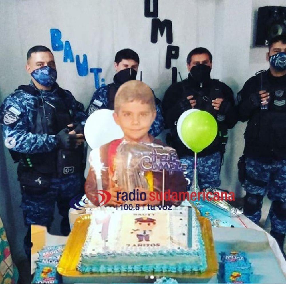 Fue un orgullo acompañar a Bautista en su cumpleaños